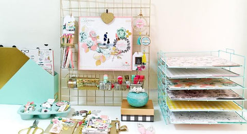 Crate Paper Craft+Office Storage System