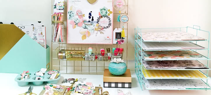 Crate Paper Craft Office Storage System
