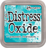 Tim Holtz Distress Oxides Ink Pad Peacock Feathers