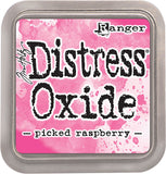 Tim Holtz Distress Oxides Ink Pad Picked Raspberry
