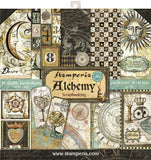 Stamperia Double-Sided Paper Pad Alchemy 12inX12in 10pk