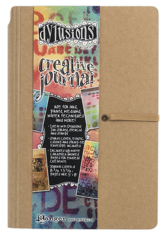 Dyan Reaveley's Dylusions Creative Journal Kraft 8.375inX5.625in