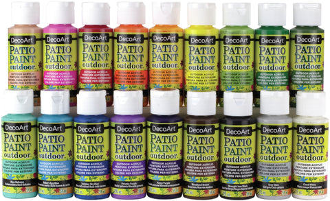 Patio Paint Sampler Fan Favorites 18pk