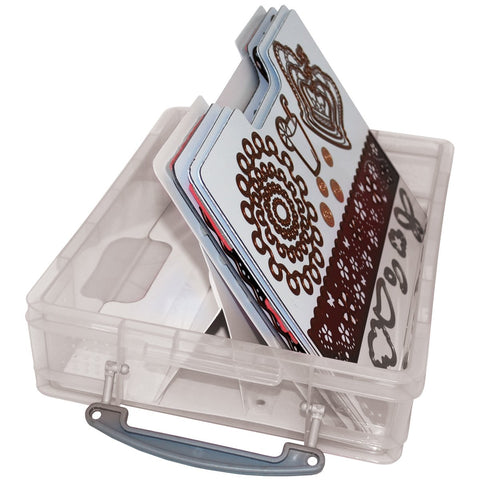 Zutter Cling and Clear Stamp Storage