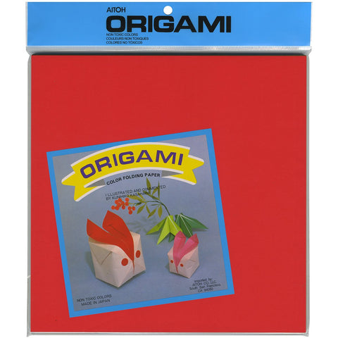 Origami Paper Assorted Colors 9.75inX9.75in 100pk