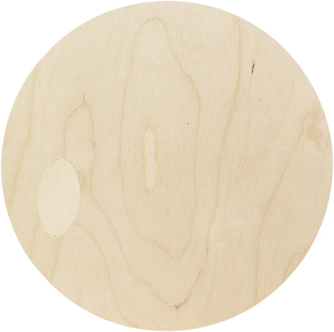 Baltic Birch Plaque Circle 10in