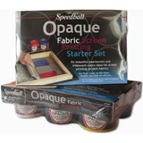 Speedball Opaque Fabric Screen Printing Starter Kit