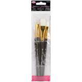 Donna Dewberry Glass Brush Set 4pk