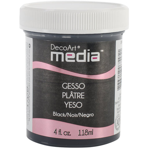 DecoArt Media Gesso Black