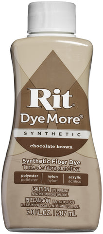 Rit Dye More Synthetic Chocolate Brown 7oz