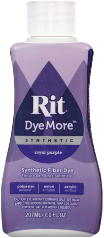 Rit Dye More Synthetic Royal Purple 7oz