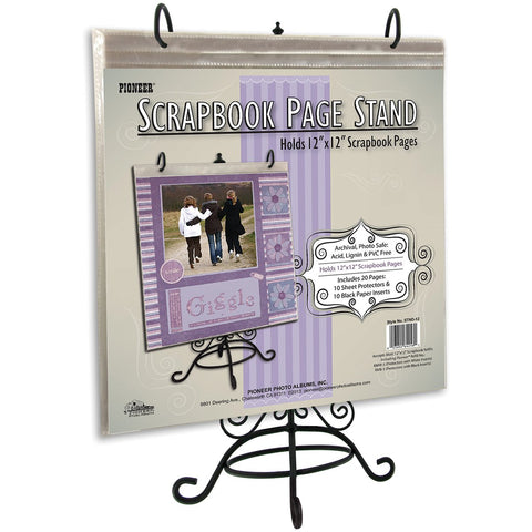 Pioneer Metal Scrapbook Page Stand For 12inX12in