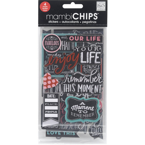 Chipboard Value Pack Chalk Fabulous