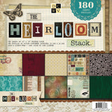 DCWV Paper Stack Heirloom 60 Designs 3 Each 12inX12in 180 Sheets