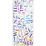 Sticko Alphabet Stickers Watercolor
