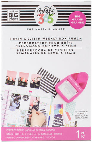 Happy Planner Big Weekly Box Punch