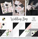 DCWV Double-Sided Cardstock Stack Wedding Day 12inX12in 36pk
