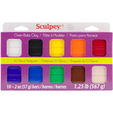 Sculpey III Oven-Bake Clay 2oz Classic Collection 10pk