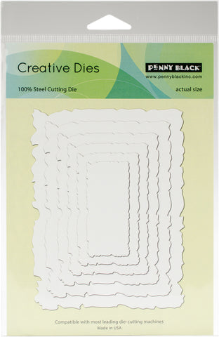 Penny Black Creative Dies Antique Frame