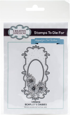 Stamps To Die For By Sue Wilson Scarlet's Daisies