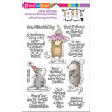 Stampendous Perfectly Clear Stamps Friend Wishes 4inx6in