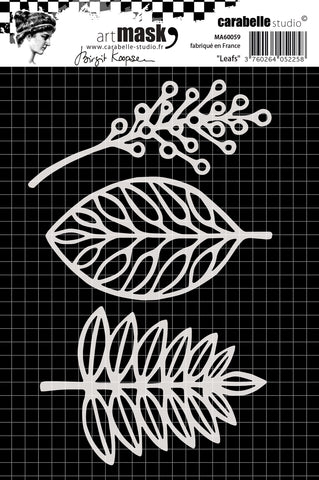 Carabelle Studio Mask A6 Birgit Koopsen Leaves