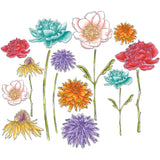 Sizzix Framelits Dies By Tim Holtz Flower Garden and Mini Bouquet