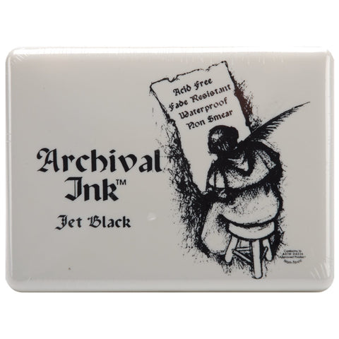 Archival Ink Jumbo Ink Pad Jet Black #3