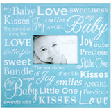 MBI Expressions Post Bound Album with Window Baby Blue 12inX12in