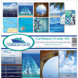 Reminisce Collection Kit Caribbean Cruise 12inX12in