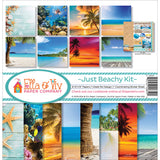 Ella and Viv Just Beachy Collection Kit 12inx12in