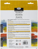 Gouache Acrylic Paints Assorted Colors 12ml 24pk