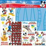 "Disney Page Kit 12""x12"" - Mickey Mouse"
