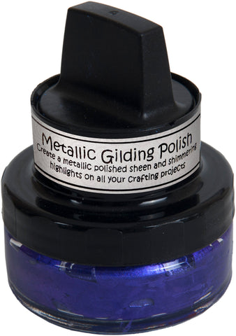 Cosmic Shimmer Metallic Gilding Polish Purple Mist