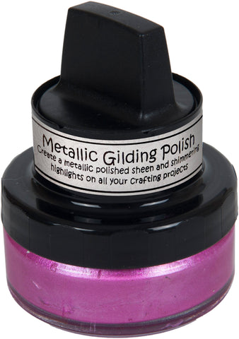 Cosmic Shimmer Metallic Gilding Polish Indian Pink