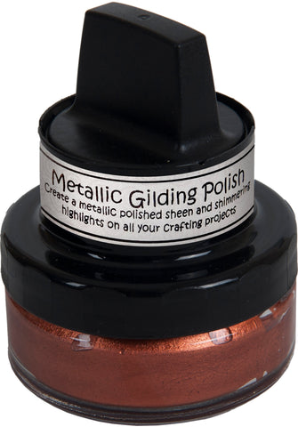 Cosmic Shimmer Metallic Gilding Polish Red Bronze