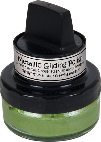 Cosmic Shimmer Metallic Gilding Polish Citrus Green