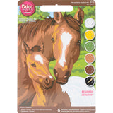 Paint Works Paint By Number Kit Pony & Mother 8inX10in