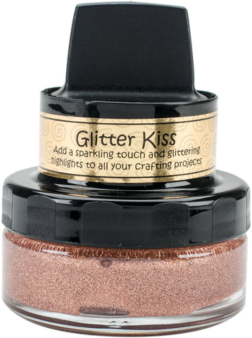 Cosmic Shimmer Glitter Kiss Light Copper