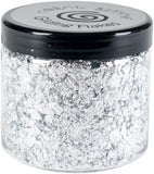 Creative Expressions Cosmic Shimmer Gilding Flakes Silver Moon 200ml