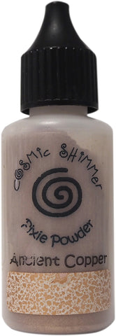 Creative Expressions Cosmic Shimmer Pixie Powder Ancient Copper 30ml