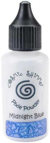 Creative Expressions Cosmic Shimmer Pixie Powder Midnight Blue 30ml