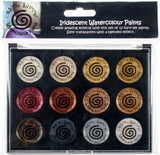 Cosmic Shimmer Iridescent Watercolor Palette Set 1 Metallics