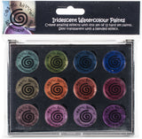 Cosmic Shimmer Iridescent Watercolor Palette Set 6 Antique Shades