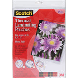 Scotch Thermal Laminator Pouches 9inX11.4in 20pk