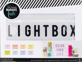 Heidi Swapp Lightbox Multi-Colored 10inX13inX2in