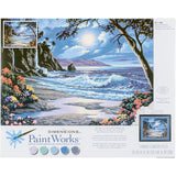 Paint Works Paint By Number Kit Moonlit Paradise 20inX16in