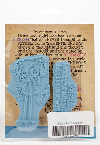 Stamping Bella Cling Stamps Oddball Nurse