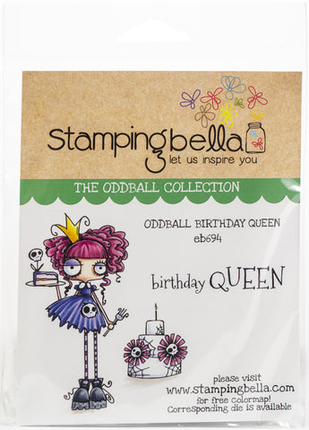 Stamping Bella Cling Stamps Oddball Queen
