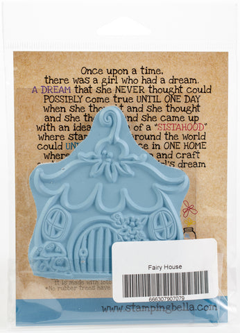 Stamping Bella Cling Stamps Little Bits Fairy House